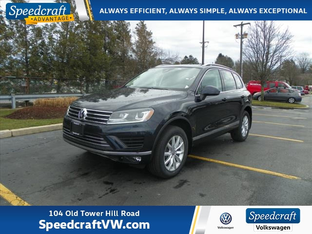 New 2017 Volkswagen Touareg V6 Sport With Navigation Awd Sdcraft Auto Group